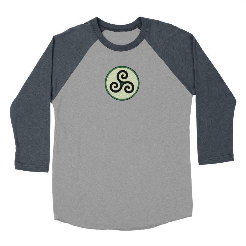 FLD Triskele Emblem Men's Baseball Triblend Longsleeve T-Shirt by falconlara.design shop