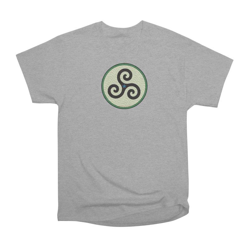 FLD Triskele Emblem Men's Heavyweight T-Shirt by falconlara.design shop