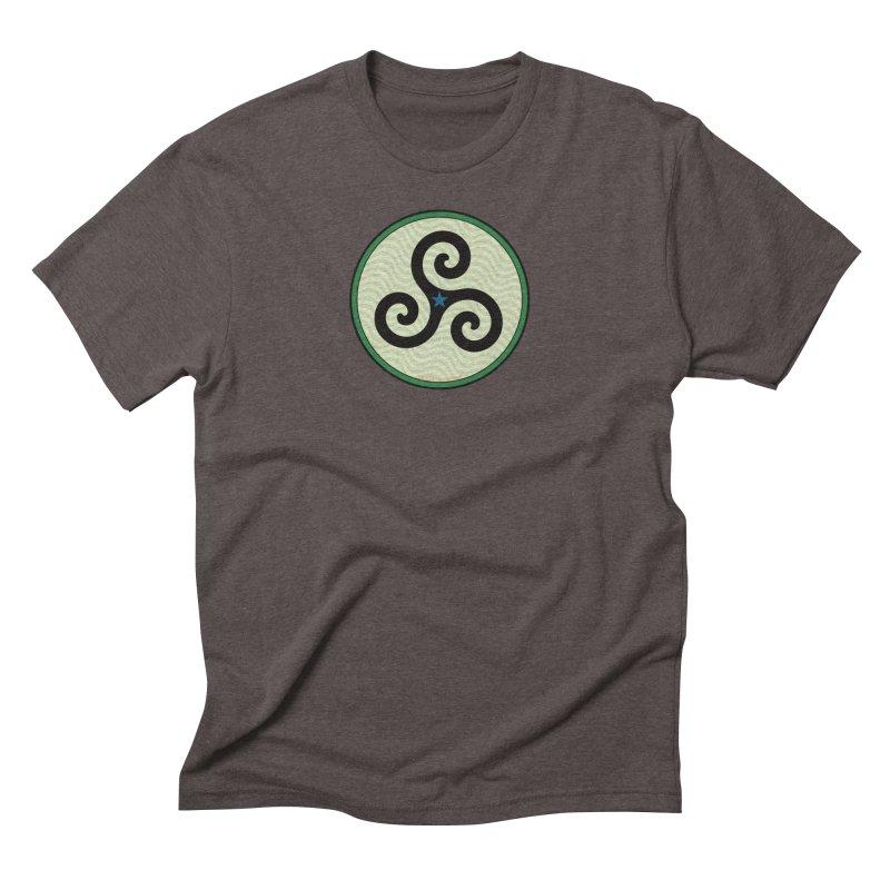 FLD Triskele Emblem Men's Triblend T-Shirt by falconlara.design shop