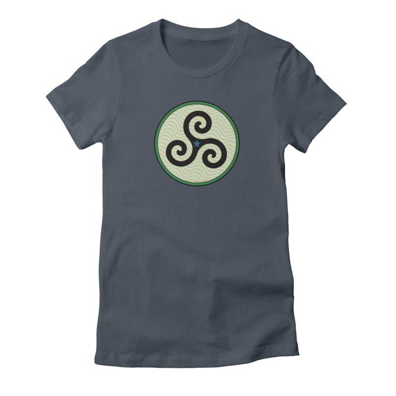 FLD Triskele Emblem Women's T-Shirt by falconlara.design shop
