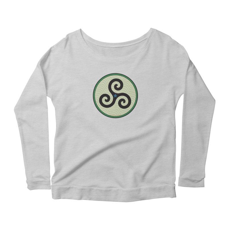 FLD Triskele Emblem Women's Scoop Neck Longsleeve T-Shirt by falconlara.design shop