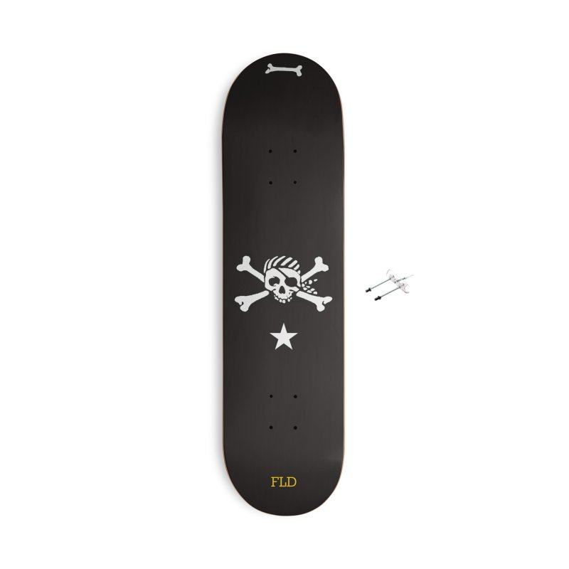 Jolly Roger Skateboard Accessories With Hanging Hardware Skateboard by falconlara.design shop