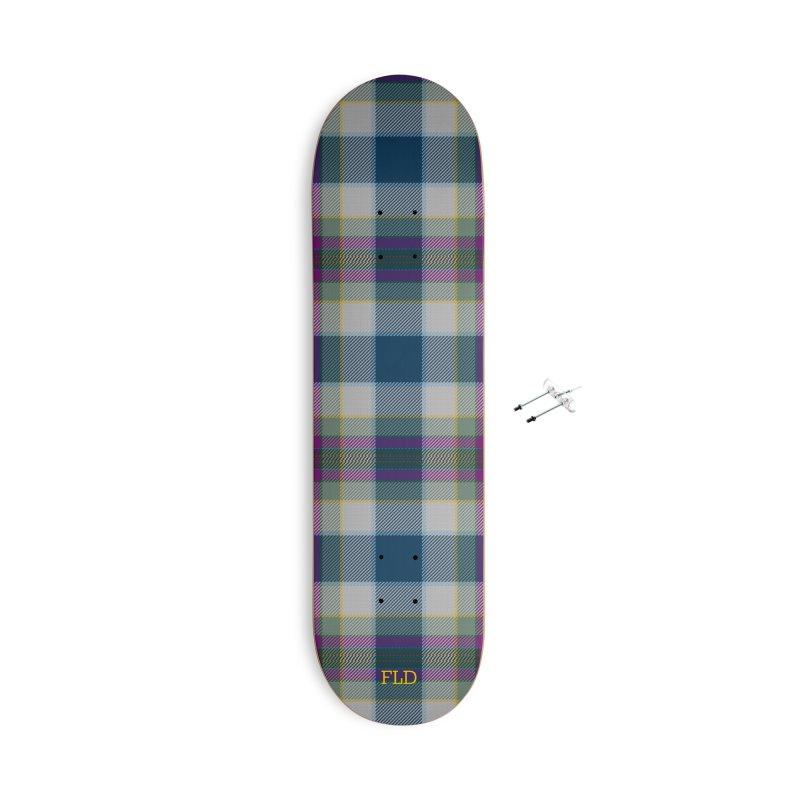 FL Tartan Skateboard Accessories With Hanging Hardware Skateboard by falconlara.design shop