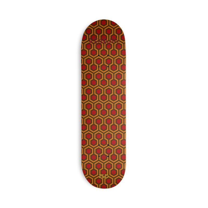 Overlook Hotel Skateboard Accessories Deck Only Skateboard by falconlara.design shop