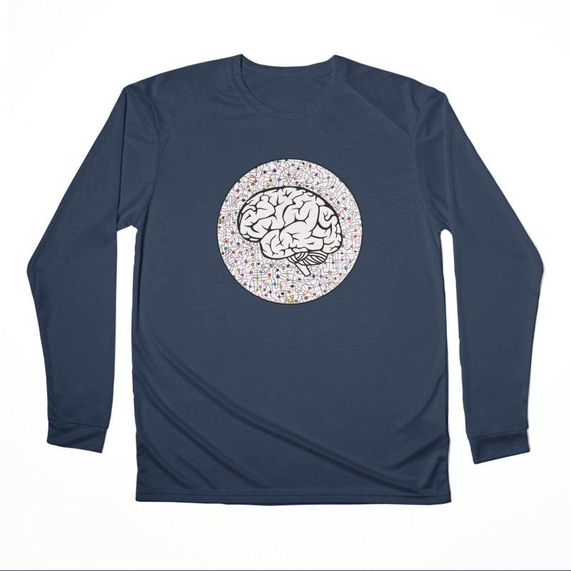 The Brain Circle Men's Performance Longsleeve T-Shirt by falconlara.design shop