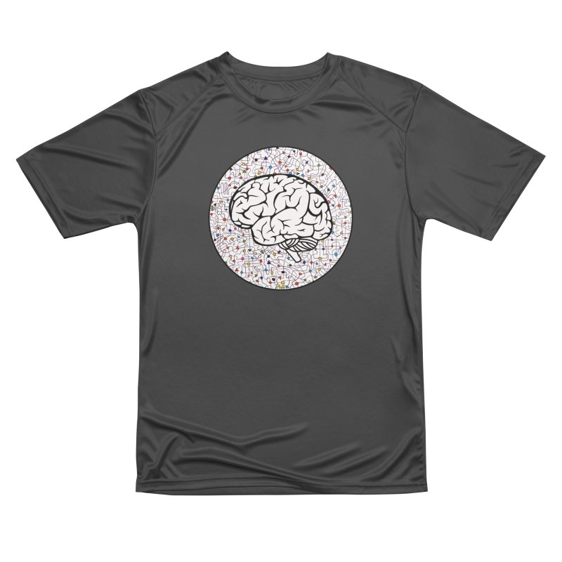 The Brain Circle Women's Performance Unisex T-Shirt by falconlara.design shop