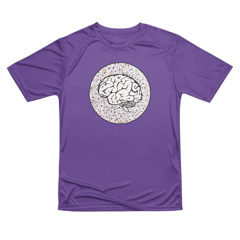 The Brain Circle Men's Performance T-Shirt by falconlara.design shop