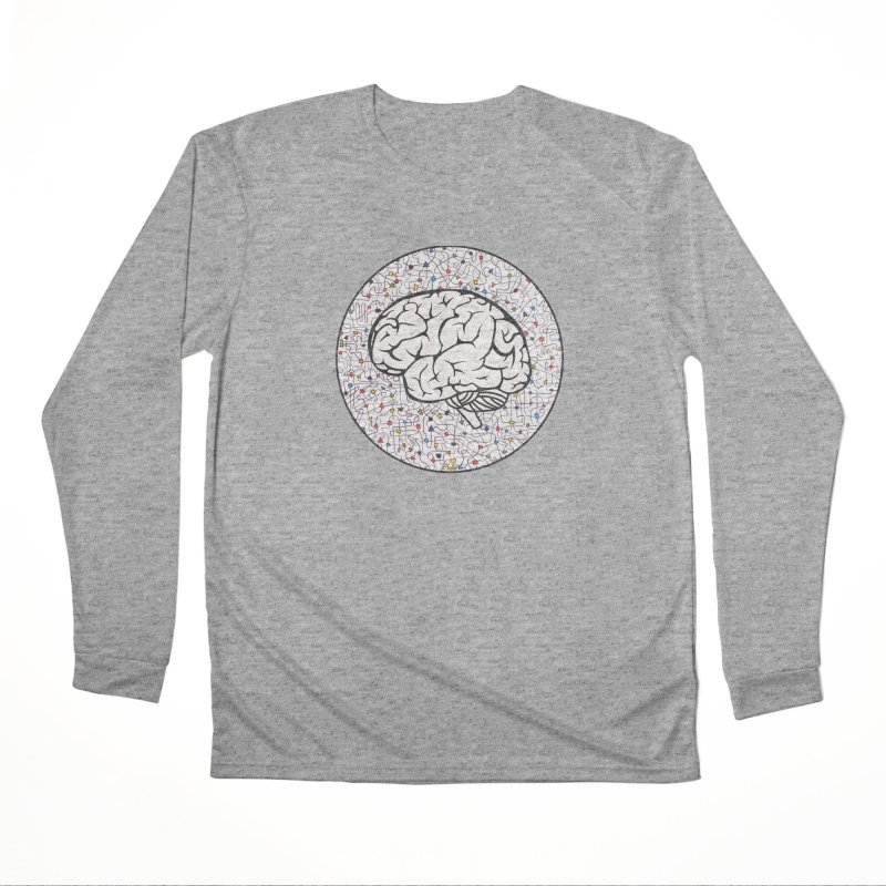 The Brain Circle Women's Performance Unisex Longsleeve T-Shirt by falconlara.design shop
