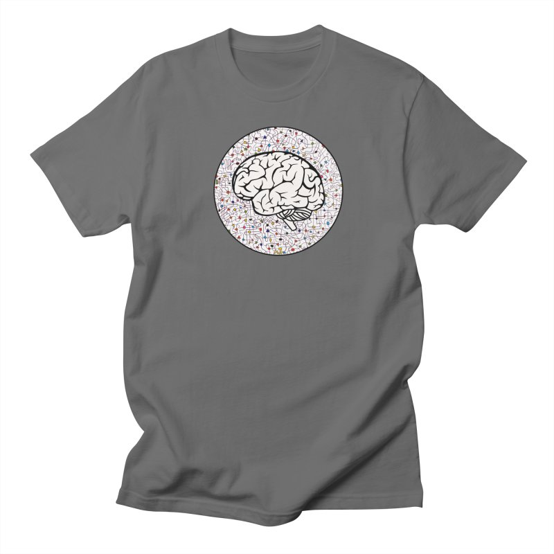 The Brain Circle Men's T-Shirt by falconlara.design shop