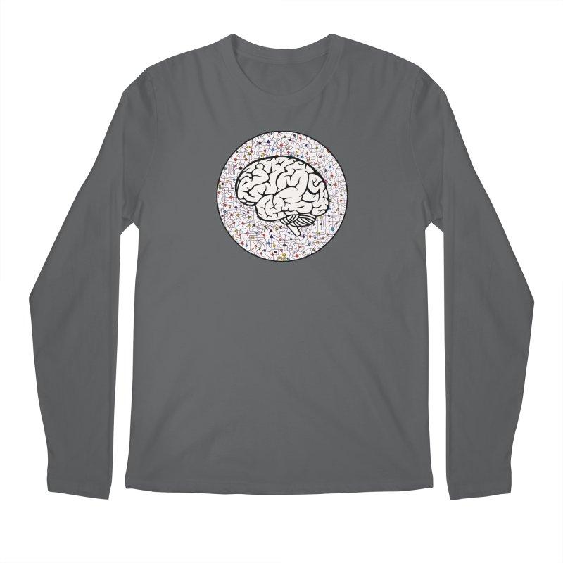 The Brain Circle Men's Regular Longsleeve T-Shirt by falconlara.design shop