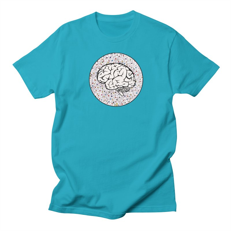 The Brain Circle Women's Regular Unisex T-Shirt by falconlara.design shop