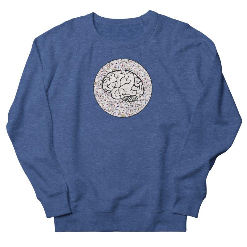 The Brain Circle Women's French Terry Sweatshirt by falconlara.design shop