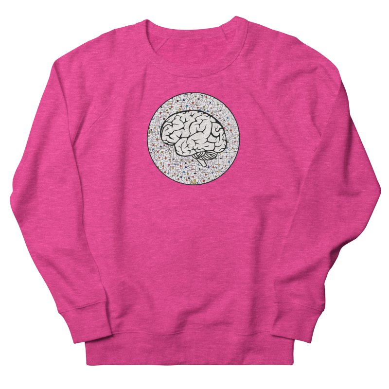 The Brain Circle Women's French Terry Sweatshirt by falconlara.design shop