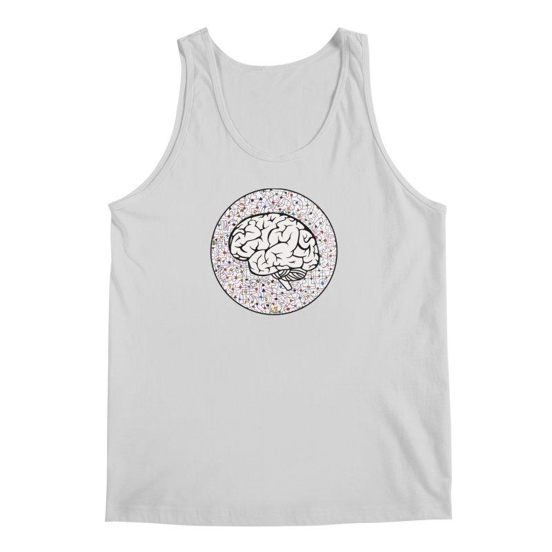 The Brain Circle Men's Regular Tank by falconlara.design shop