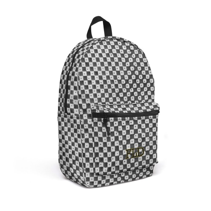 Dutch Chessboard Accessories Backpack Bag by falconlara.design shop