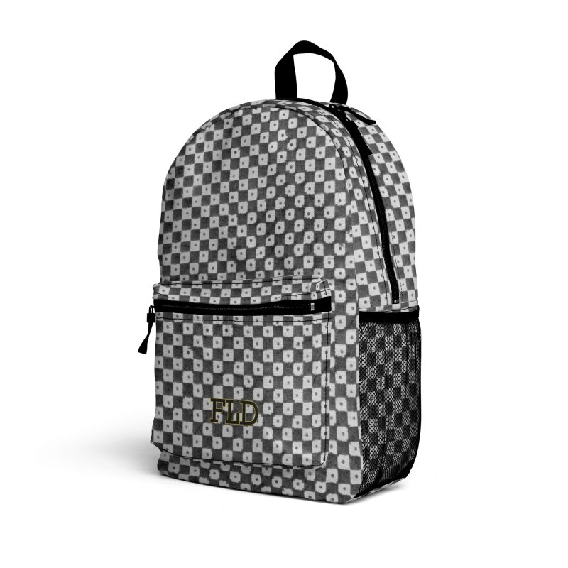 Dutch Chessboard Accessories Bag by falconlara.design shop