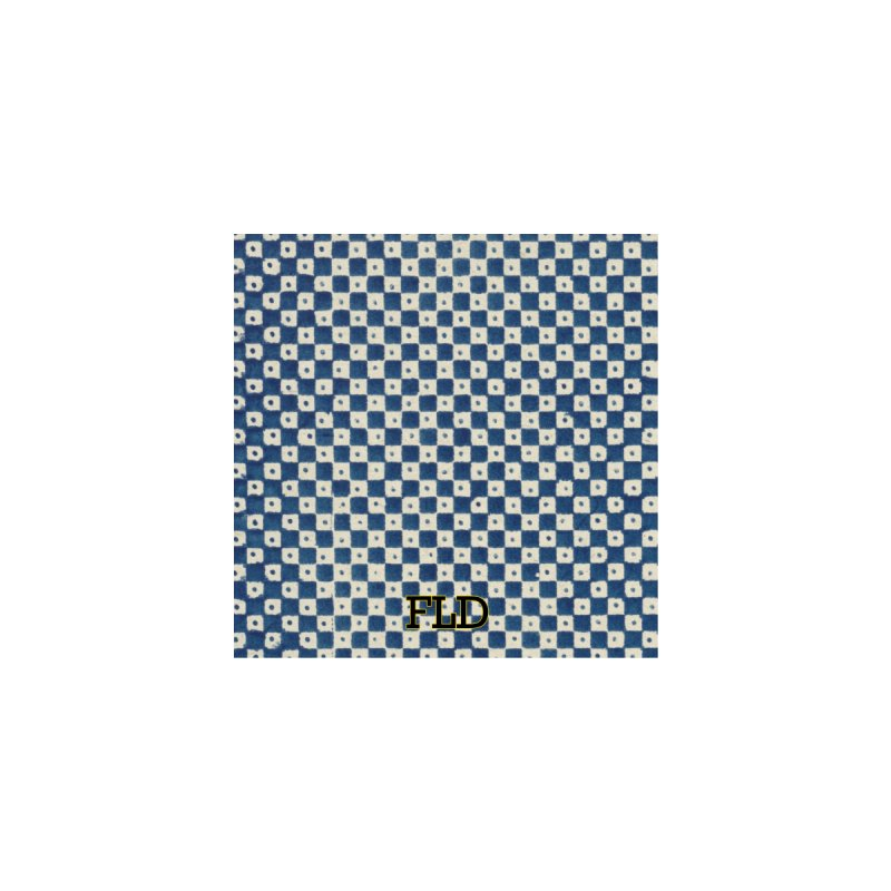 Dutch Chessboard Blue Accessories Bag by falconlara.design shop