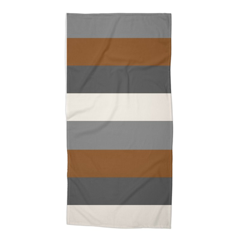 Four Neutrals by FLD Accessories Beach Towel by falconlara.design shop