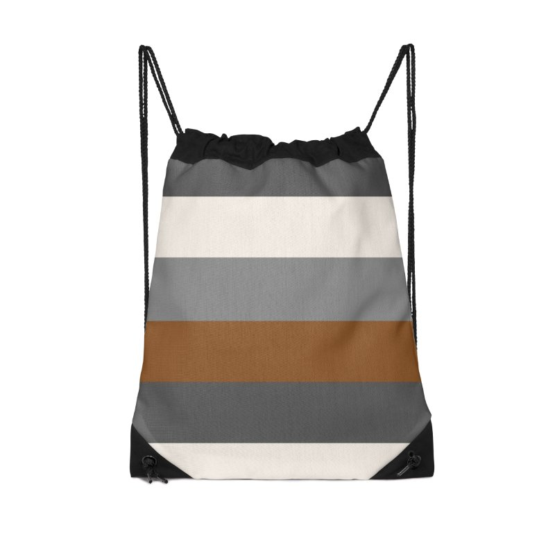Four Neutrals by FLD Accessories Drawstring Bag Bag by falconlara.design shop