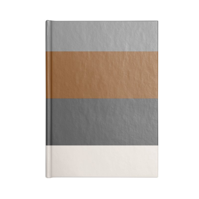 Four Neutrals by FLD Accessories Lined Journal Notebook by falconlara.design shop