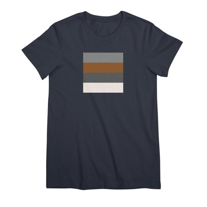 Four Neutrals by FLD Women's Premium T-Shirt by falconlara.design shop