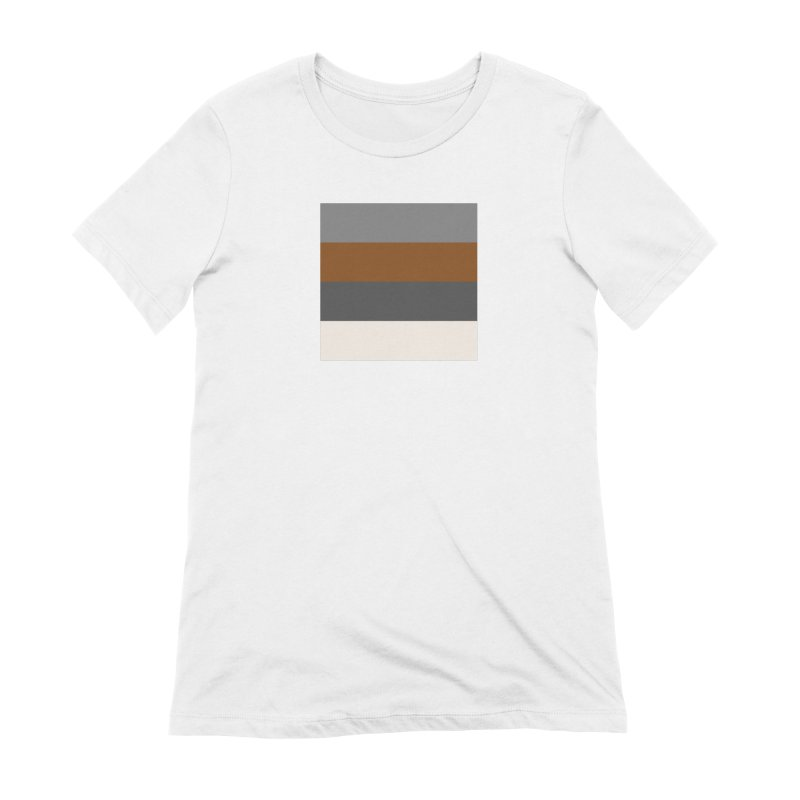 Four Neutrals by FLD Women's Extra Soft T-Shirt by falconlara.design shop