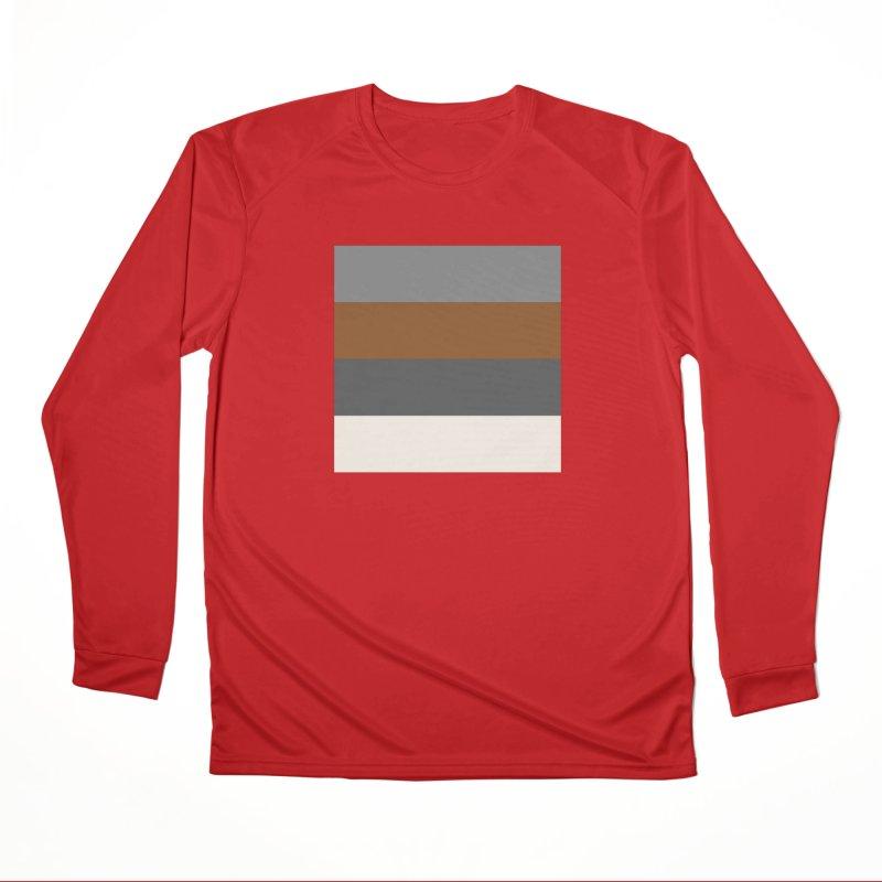 Four Neutrals by FLD Men's Performance Longsleeve T-Shirt by falconlara.design shop