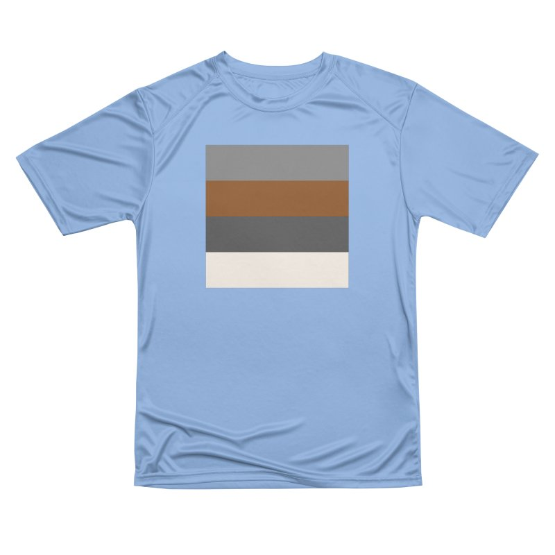Four Neutrals by FLD Women's Performance Unisex T-Shirt by falconlara.design shop