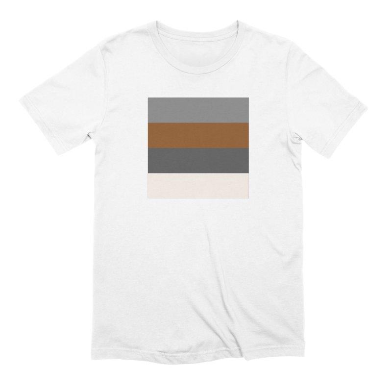 Four Neutrals by FLD Men's Extra Soft T-Shirt by falconlara.design shop