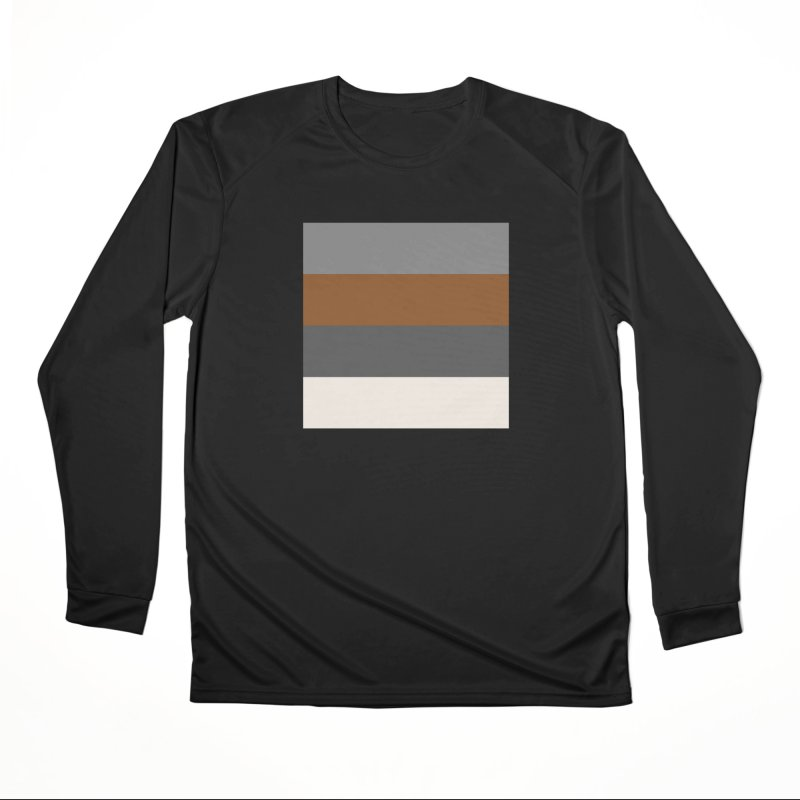Four Neutrals by FLD Women's Performance Unisex Longsleeve T-Shirt by falconlara.design shop