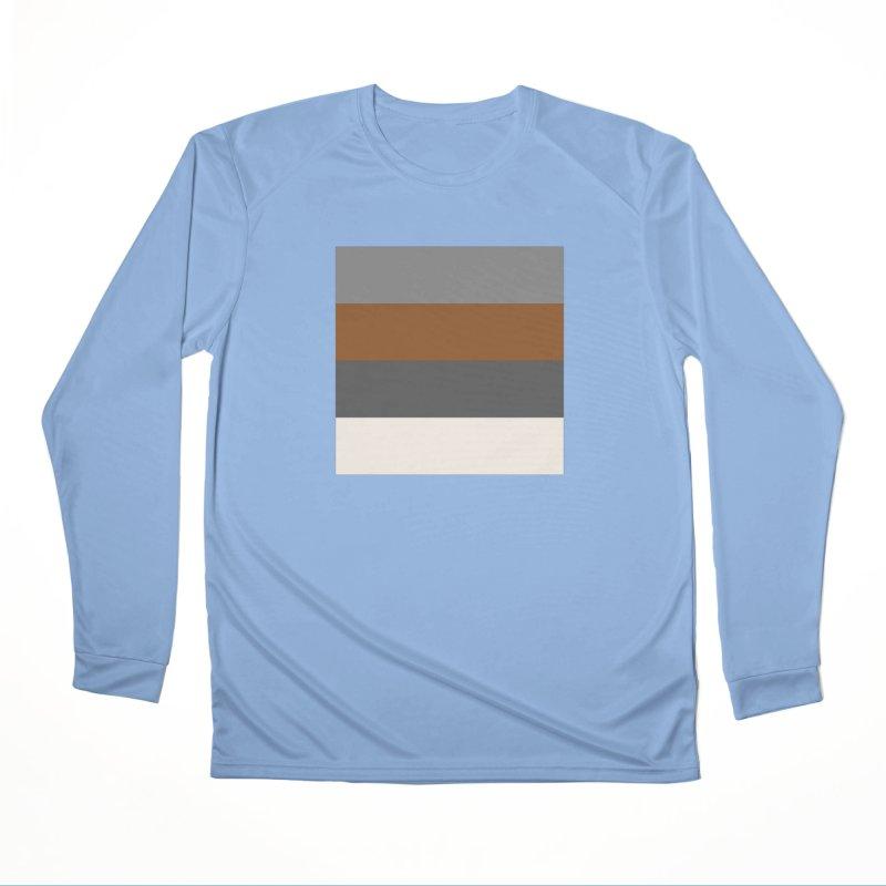 Four Neutrals by FLD Women's Performance Unisex Longsleeve T-Shirt by falconlara.design shop