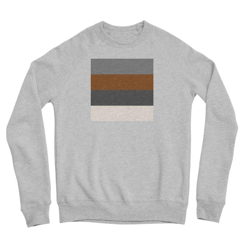 Four Neutrals by FLD Women's Sponge Fleece Sweatshirt by falconlara.design shop