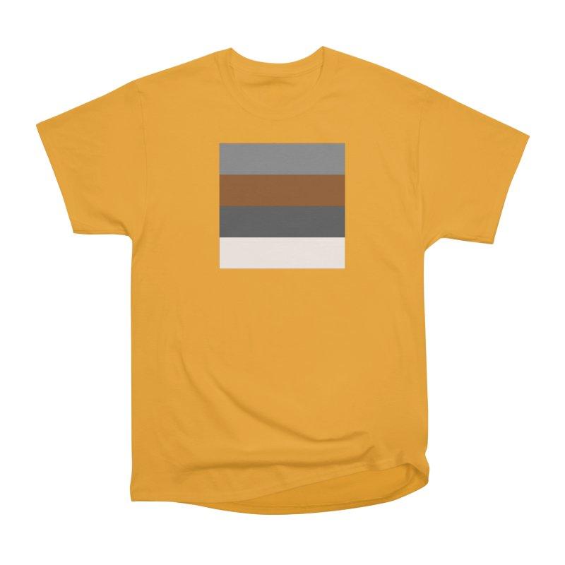 Four Neutrals by FLD Men's Heavyweight T-Shirt by falconlara.design shop