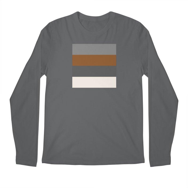 Four Neutrals by FLD Men's Regular Longsleeve T-Shirt by falconlara.design shop
