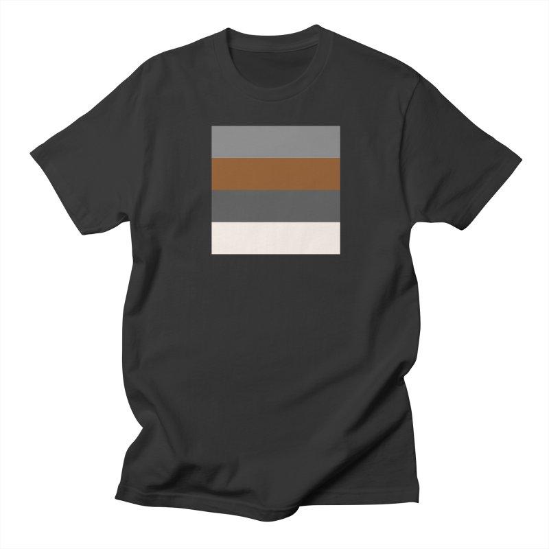 Four Neutrals by FLD Men's Regular T-Shirt by falconlara.design shop