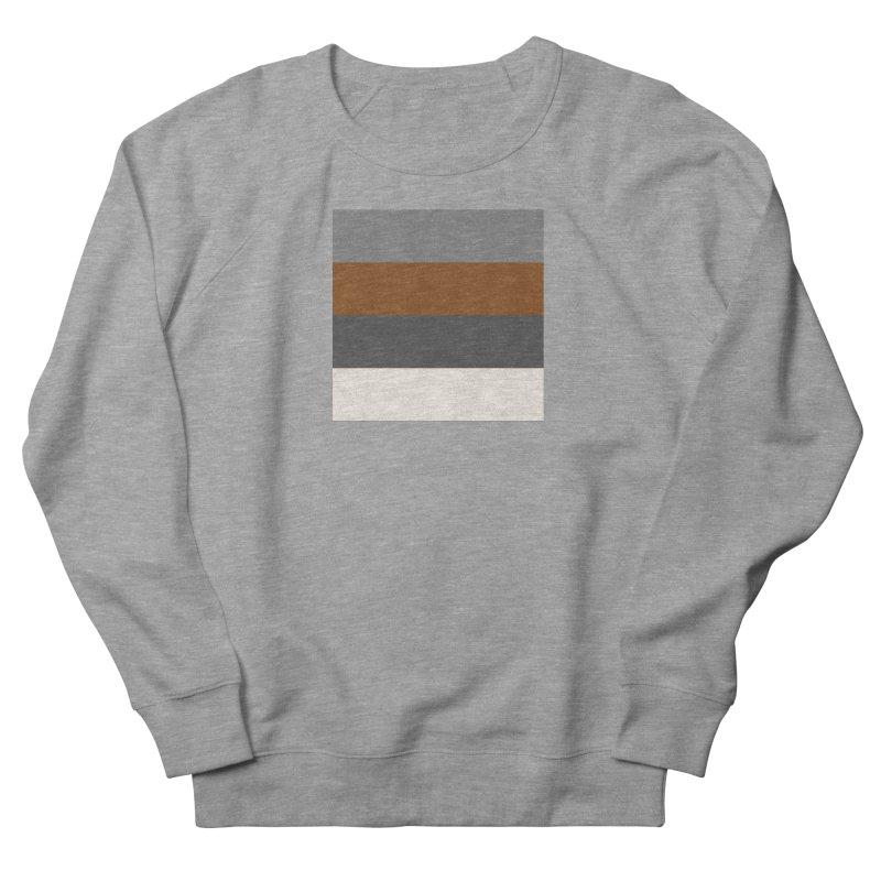 Four Neutrals by FLD Women's French Terry Sweatshirt by falconlara.design shop