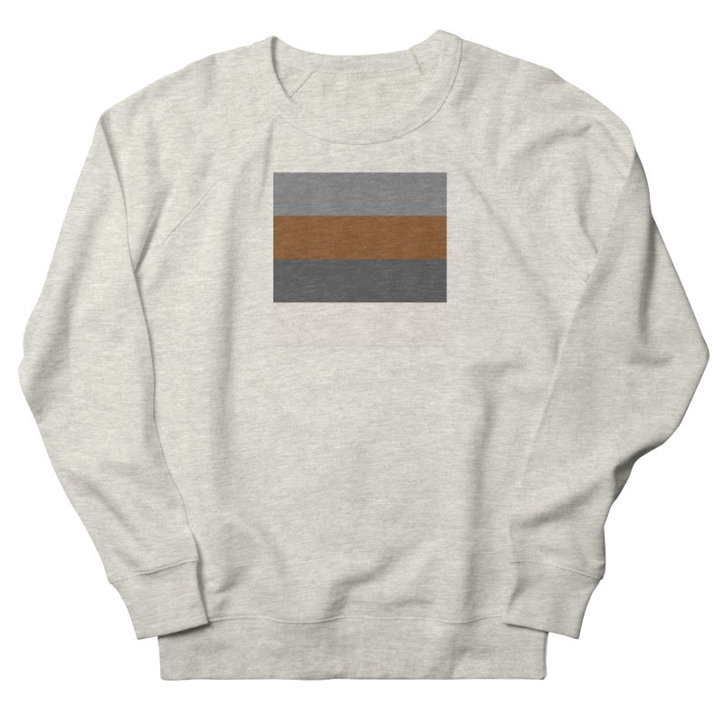 Four Neutrals by FLD Men's French Terry Sweatshirt by falconlara.design shop