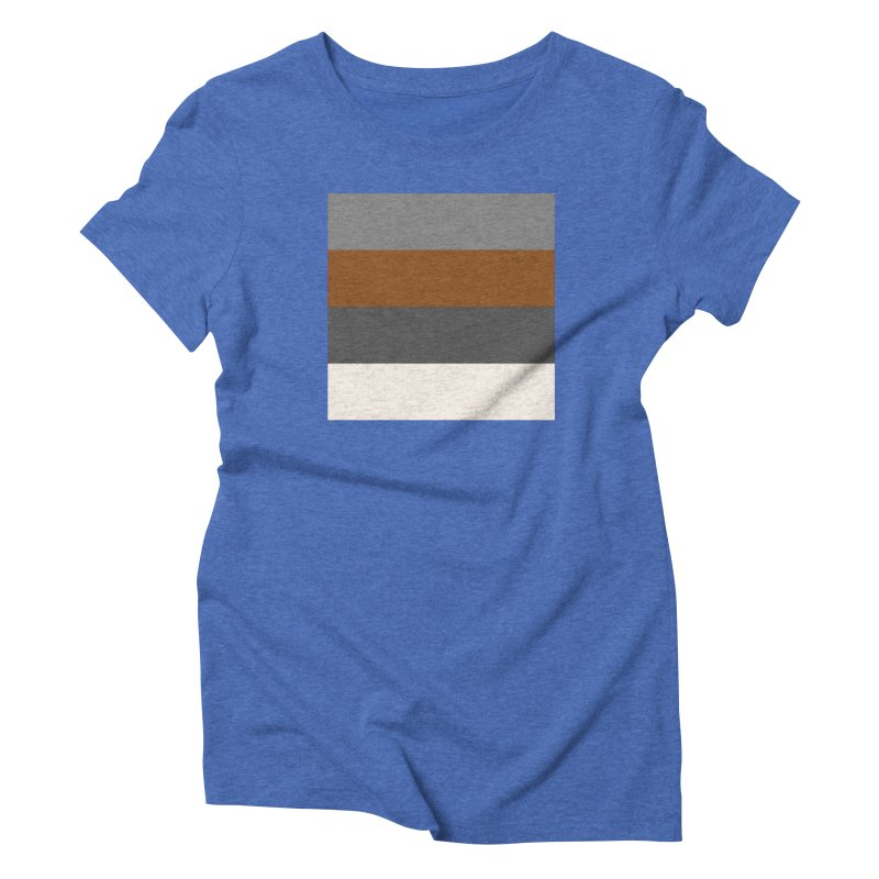 Four Neutrals by FLD Women's Triblend T-Shirt by falconlara.design shop