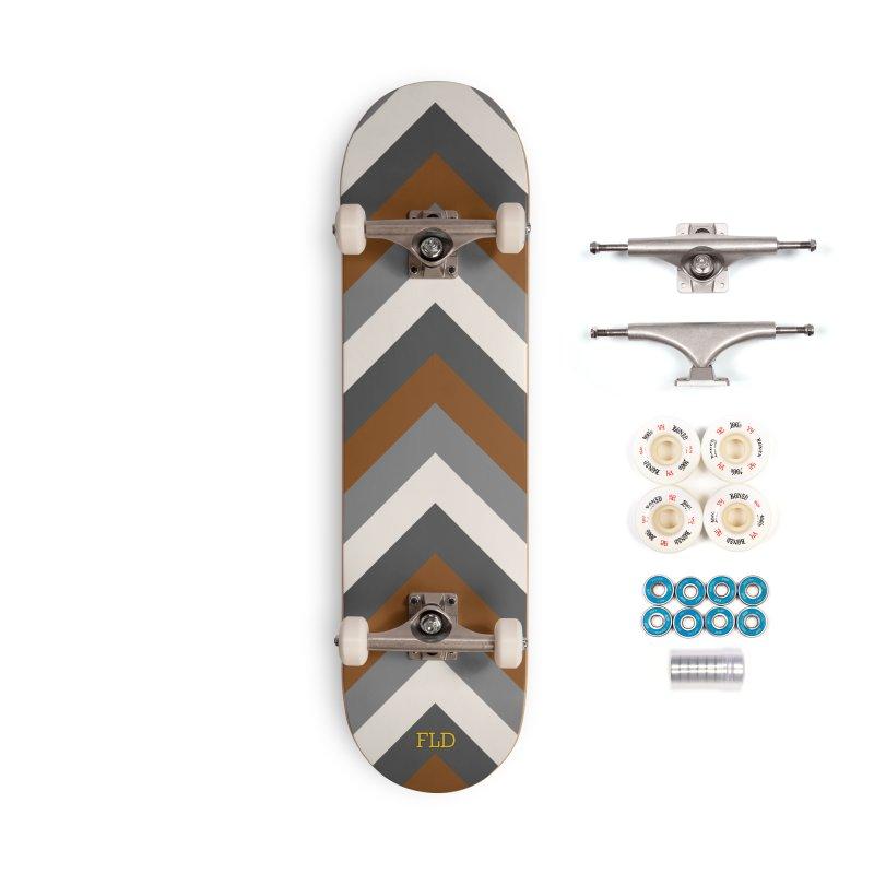 Four Neutrals by FLD Accessories Complete - Premium Skateboard by falconlara.design shop