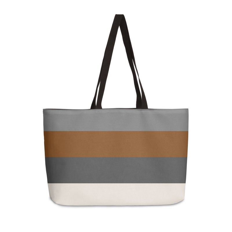 Four Neutrals by FLD Accessories Weekender Bag Bag by falconlara.design shop