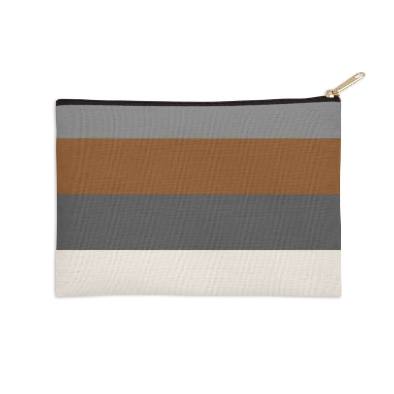 Four Neutrals by FLD Accessories Zip Pouch by falconlara.design shop
