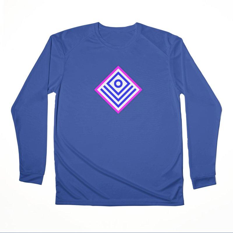 FLD Box Pattern - Abstract Men's Performance Longsleeve T-Shirt by falconlara.design shop