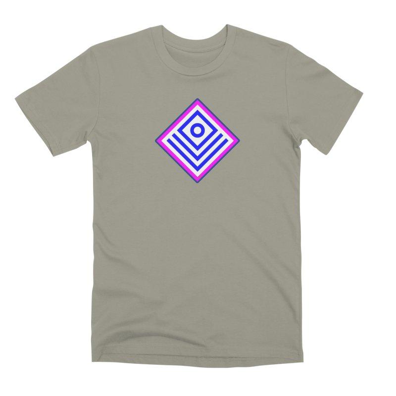 FLD Box Pattern - Abstract Men's Premium T-Shirt by falconlara.design shop