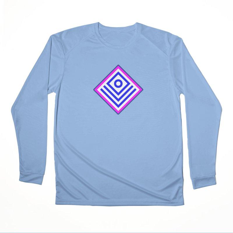 FLD Box Pattern - Abstract Women's Performance Unisex Longsleeve T-Shirt by falconlara.design shop