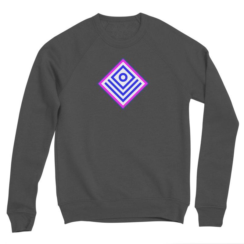 FLD Box Pattern - Abstract Men's Sponge Fleece Sweatshirt by falconlara.design shop