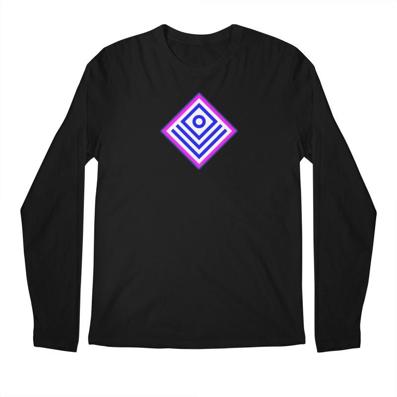 FLD Box Pattern - Abstract Men's Regular Longsleeve T-Shirt by falconlara.design shop