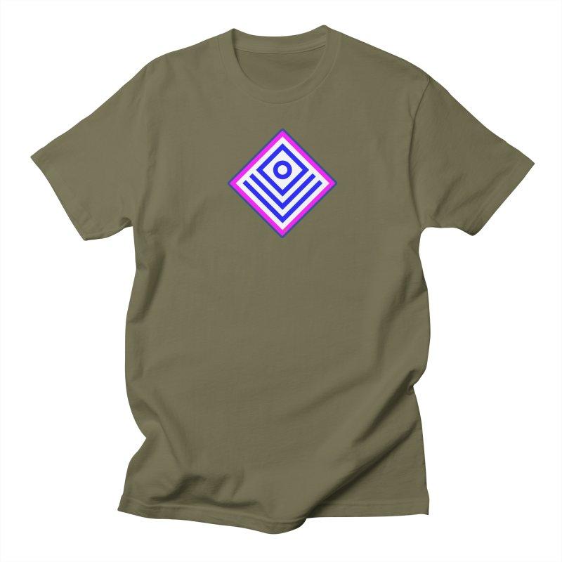 FLD Box Pattern - Abstract Women's Regular Unisex T-Shirt by falconlara.design shop