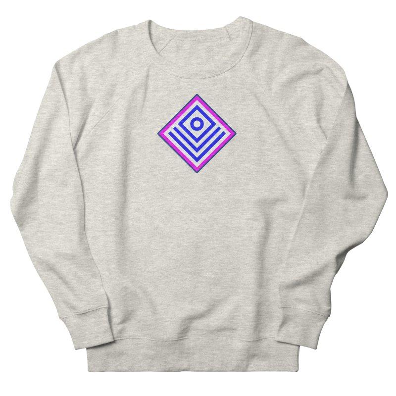 FLD Box Pattern - Abstract Women's French Terry Sweatshirt by falconlara.design shop