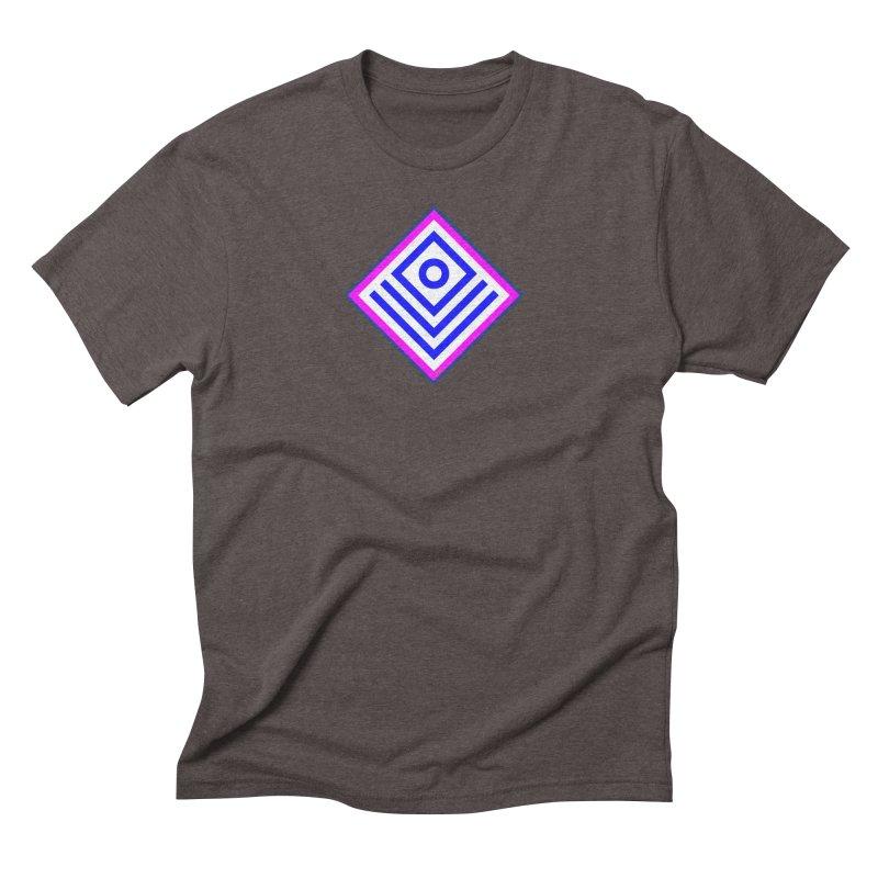 FLD Box Pattern - Abstract Men's Triblend T-Shirt by falconlara.design shop