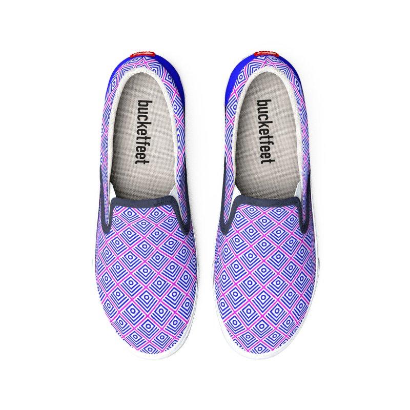 FLD Box Pattern - Abstract Men's Shoes by falconlara.design shop